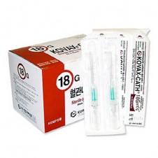 정맥카테타 (IV Catheter)18G*1+1/4 (1.25)-한국백신 (200ea)