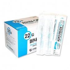 정맥카테타 (IV Catheter)22G*1 (1)-한국백신 (200ea)