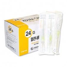 정맥카테타 (IV Catheter)24G (0.75)-한국백신 (200ea)